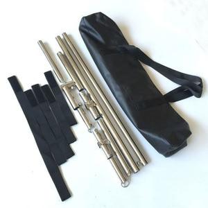 Image 5 - Stainles Steel K9 BDSM Bondage Device Neck Collar Ankle Cuffs Wrist Restraints Belt Spreader Bar Handcuffs Sex Toys For Couples