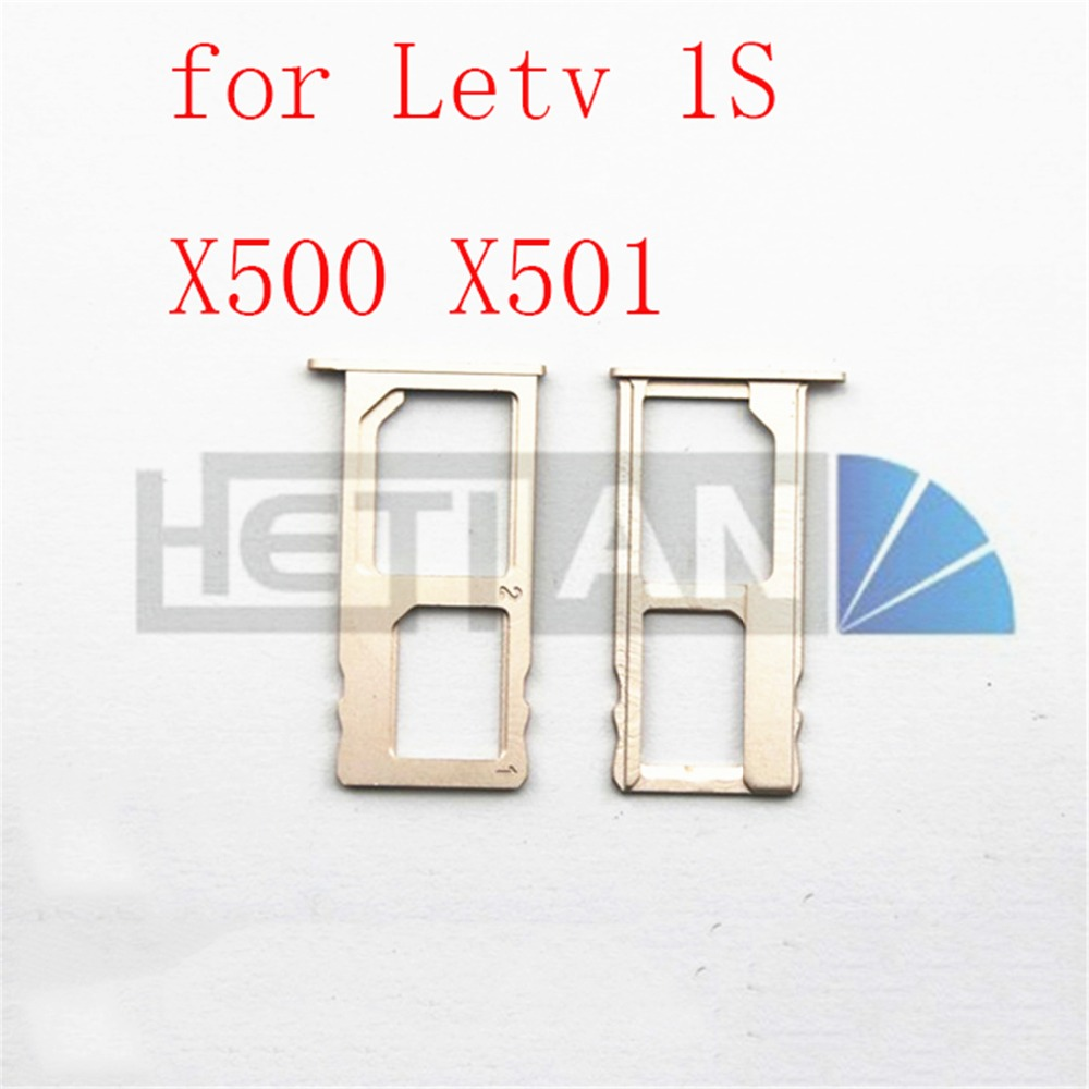 10PCS Original New For Letv 1 S X500 X501 Le One S 5.5 Inch Sim Card Holder Tray Slot Repalcement Parts