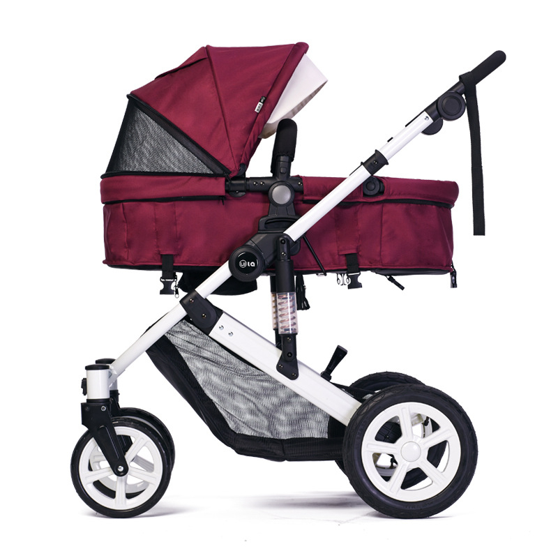 WLA High Landscape Fashion Stroller Inflatable Tyre Stroller Trolley Europe and America Baby StrollerWLA High Landscape Fashion Stroller Inflatable Tyre Stroller Trolley Europe and America Baby Stroller