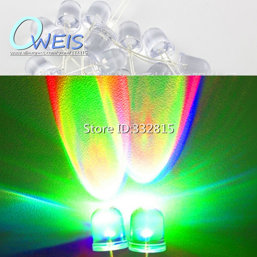 Active Components 100pcs X Long Leg 3mm 5mm Color Lens White Jade Green Yellow Red Blue Ultra Bright Led Light-emitting Diode Led Less Expensive