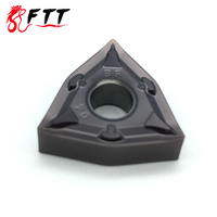 WNMG080404 BF VP15TF Hoge kwaliteit Externe Draaigereedschappen Carbide insert Draaibank cutter CNC tool