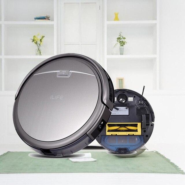 ILIFE A4 Умный Робот Пылесос, Швабра Cleaner Machine Self-заряд HEPA Фильтр Датчик Дистанционного Управления РОБОТ ASPIRADOR Для дома