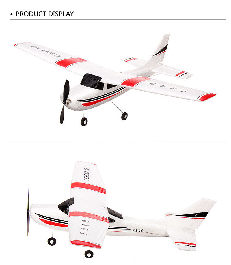 F949-3CH-RC Airplane-Aircraft Quadcopter-RC Toys-display
