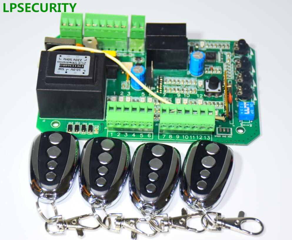 Lpsecurity Sliding Gate Opener Motor Control Unit Pcb Controller Circuitboard Circuit Board Electronic Card Py600acl Sl1500ac Py800ac