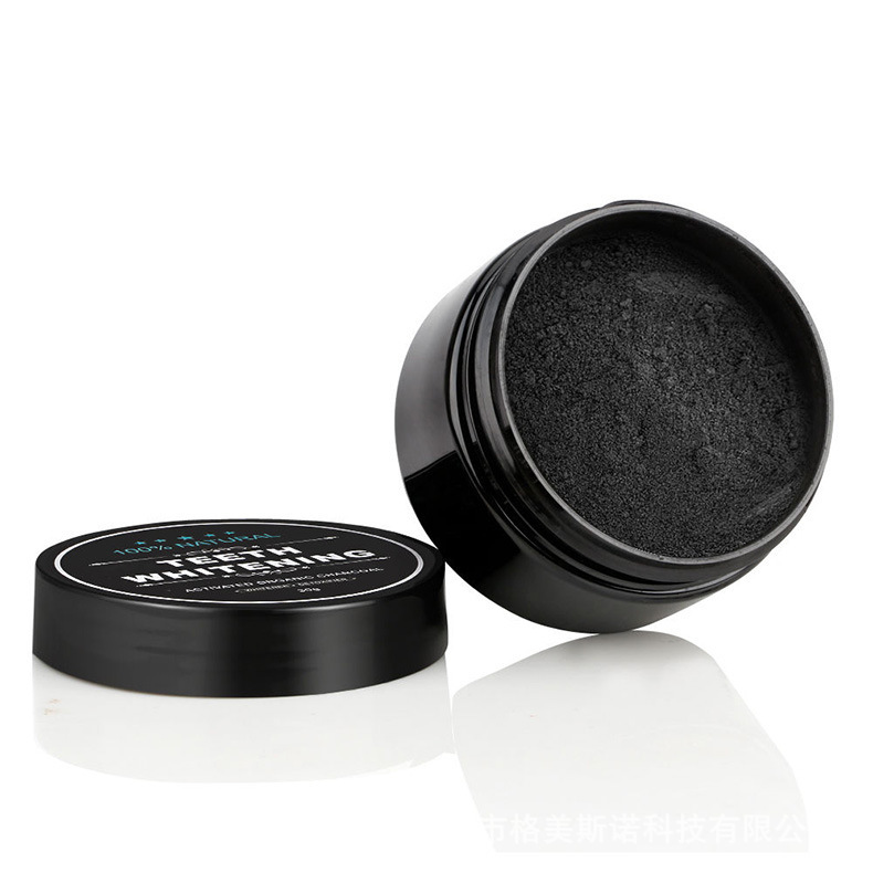 Nature Activated Charcoal Teeth Whitening Powder Coffee Tea Stains of Smoking Removal Deeply Cleaning Oral Hygiene Care