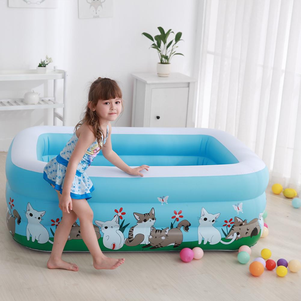 Gonflable bébé piscine Portable extérieur enfants bassin baignoire enfants piscine bébé piscine eau sûre Durable