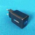 18 W Carga Rápida 2.0 USB Carregador De Parede Turbo QC 2.0 Carregador Rápido Para samsung s6 s7 edge xiaomi 5S huawei p9 plus htc para iphone 7
