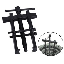 Black Plated Two Jaws Gear Puller Armature Bearing Puller Forging Extractor Installation Remove Tools cycle bearing extract puller set for wheels hub bearing remove