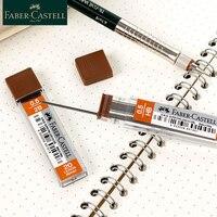 Faber Castell 1265 0,5 мм 2B/карандаш запасной блок 10 Коробки/комплект Faber-Castell набор механических карандашей для заправки зажигалок карандашный грифе...