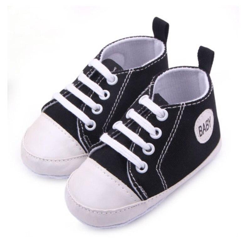 1 Par Zapatos de Bebé Niño Niña Zapatos Casuales Primeros Caminante Zapatillas B