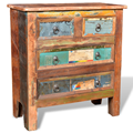Wooden chest of drawers with 4 drawers cabinet For Home Ship From ES