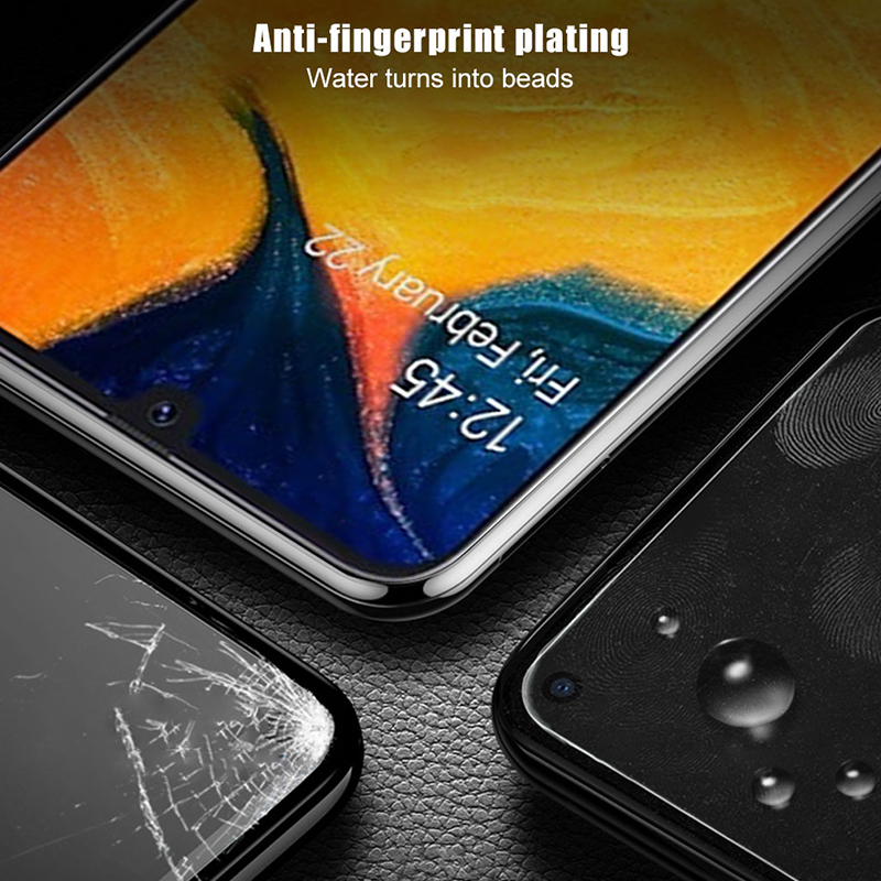Image 3 - 3D Tempered Glass For Samsung Galaxy A50 A40 A30 a70 a20 a20E a10 Screen Protector on Sumsung Galax A 50 40 30 Protective glas-in Phone Screen Protectors from Cellphones & Telecommunications