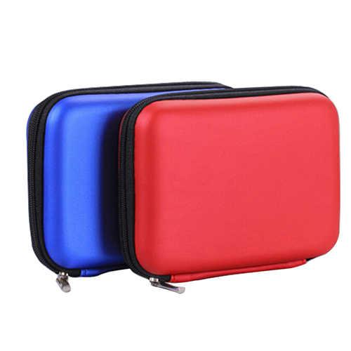 Mini funda protectora para 2,5 pulgadas USB externo HDD Disco Duro caja banco de energía