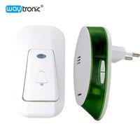 AC 220V Wireless Plug In Door Bell Dingdong Melody Doorbell 32 Melodies 1 Receiver 1 Transmitter