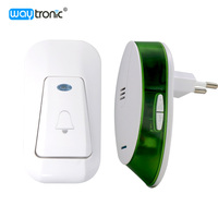 AC 220V Wireless Plug In Door Bell Dingdong Melody Doorbell 32 Melodies 1 Receiver 1 Transmitter