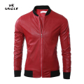 2016 New Arrivals Autumn&Winter New Brand PU Leather Jacket Men Motorcycle Leather Jackets Overcoat High Quality XXXL,YK UNCLE