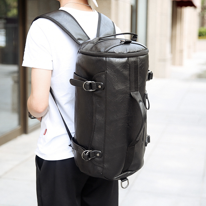 2017 Men's Backpack Male College School Backpacks For Teenager Leather Backpacks Large capacity Travel Laptop Backpack mochila unisex canvas backpacks fashion school bags for teenager boys girls large capacity travel laptop backpack leather mochila rugtas