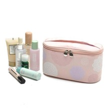 Fashion 2016 Cosmetic Bag Nylon Make Up Bag Waterproof Ladies Travel Cosmetic Bags Portable Trunk Makeup Bag For Men