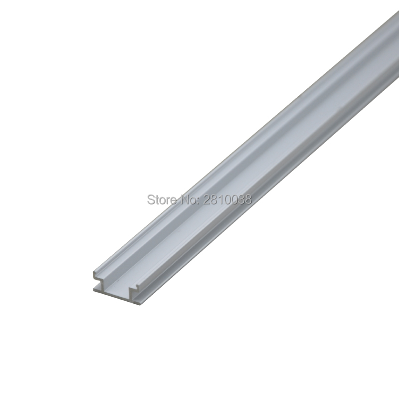 Led Bar Lights 10 X0.5m Sets/lot H Style Extruded Led Lichtband Profil And Al6063 Led Alu Profil Leisten For Room Floor Or Gound Lights A Complete Range Of Specifications