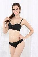 Kích thước 30 32 34 36 38 40 A B C Cup Mới Nhất Gilrs áo ngực của Phụ Nữ Push Up bra Giới Thiệu Tóm Tắt Sets Ren Bras Bộ Đồ Lót Màu Đỏ áo ngực thoải mái