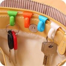 2 шт/упак креативный портативный держатель для брелока ключей