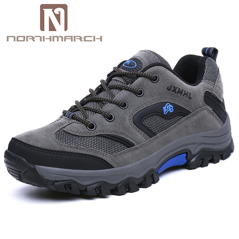 NORTHMARCH Shoes Men 2018 New Arrivals Men's Sneakers Breathable Outdoor Walking Casual Mountain Shoes Calzado Deportivo Hombre