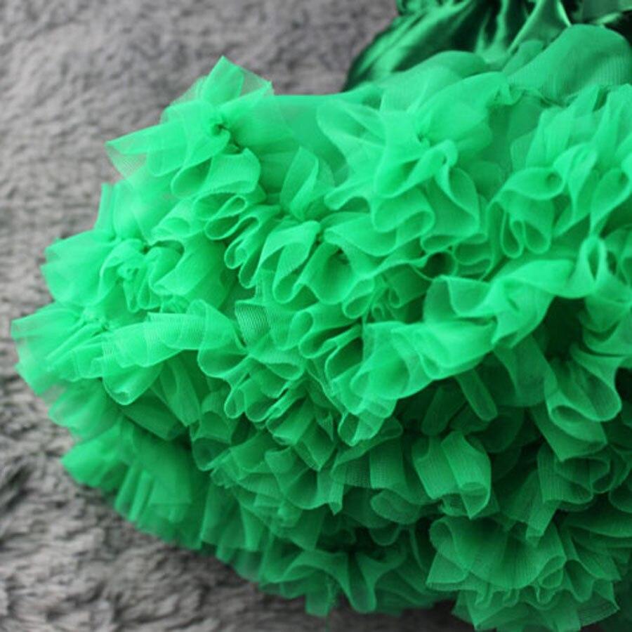 Extra full baby tutu Қатты жасыл pettiSkirt зауыты - Балалар киімі - фото 5