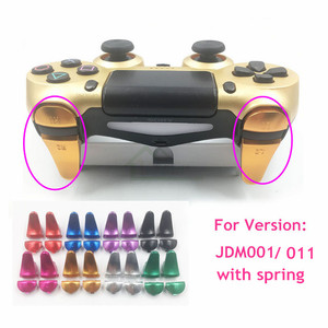 Image 1 - Customs Metal Aluminum L1 R1 L2 R2 Extender Extended Controller Trigger Buttons with Spring replacement for Playstation 4 PS4