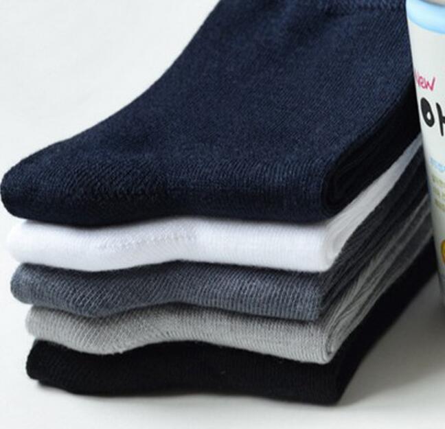 100% Baumwolle Billig Gute Qualität Socken Neue Ankunft Eine Lot 5 Stücke Hohe Belastbarkeit