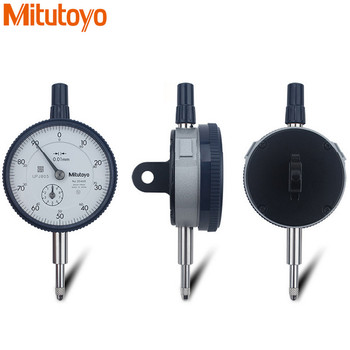 100% Real Japan Mitutoyodial Indicator 0-10mm/0.01 2046S Dial Test Gauge Metric Measuring Comparator