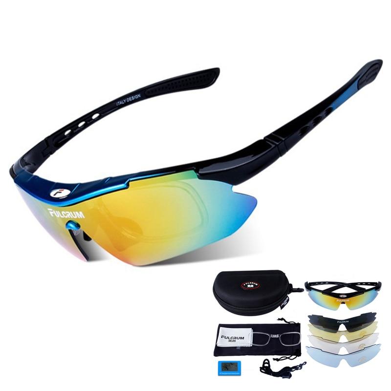 Prix pour Polarisées Vélo Lunettes De Pêche Conduite Vélo Plein Air Lunettes De Soleil Lunettes lunettes de soleil polarizadas 5 Lentille/Set