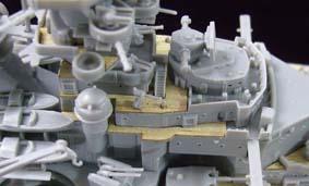 ARTWOXs 05098 battleship Bismarck German wood deck AW20001