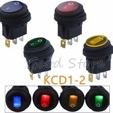 Low-Price Light-Switch Illuminated Spst Led Waterproof 3pin 220V On/Off 1pcs AC DC 25A