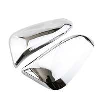Jameo Auto ABS Chrome Car Rearview Mirror Protection Cover Rear View Mirror Stickers For Toyota Fortuner