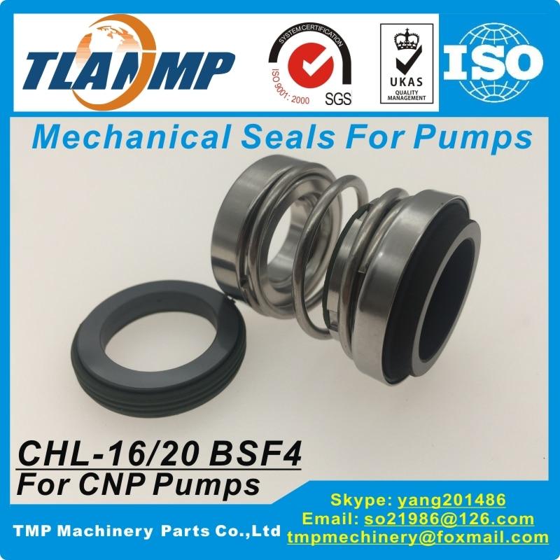 Juntas mecánicas CHL-16/BSF4, CHL-20/BSF4 para bombas multietapa horizontales serie CNP CHL/CHLF-2-4-8-12-16-20 (Material: CA/S/V)
