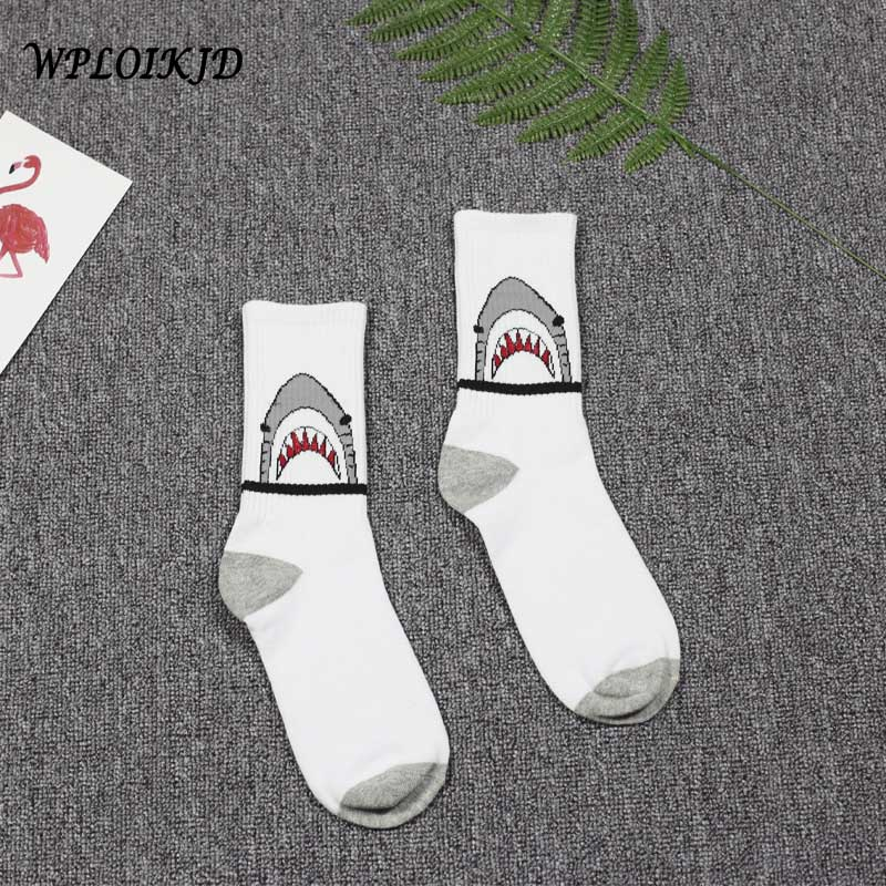 [WPLOIKJD]Creative Cartoon Hip Hop Streetwear Harajuku Socks Skateboard Weeding Socks Me ...