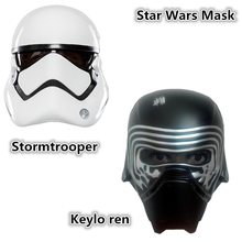 2pcs Star wars mask stormtrooper kylo ren helmet