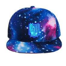 Fairy Tail Printing Cotton Luminous Sun Hat Baseball Cap