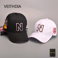 Veithdiaヨーロッパと米国の春と夏新n文字ライト野球帽子男性と女