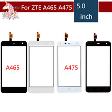 5.0 For ZTE Blade L4 Pro A465 and A475 LCD Touch Screen Digitizer Sensor Outer Glass Lens Panel Replacement защитная плёнка для zte blade l4 pro глянцевая tfn