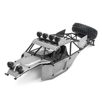 Feiyue FY 03 Metal Car Body Shell With Roll Cage For 1/12 RC Cars Desert Falcon FY CK03 Upgrade Modified Parts