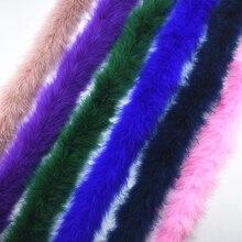 2 м/лот пушистые перья индейки Боа около 50 г Марабу черное белое перо для поделок boas в полоску карнавальный костюм Плюмы