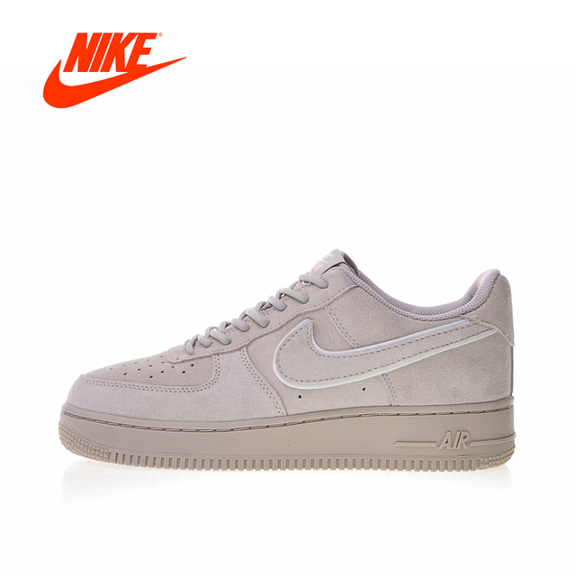 new concept fbaf6 ebb39 Original New Arrival Authentic Nike Air Force 1 07 LV8 Suede Men s  Skateboarding Shoes Outdoor Sneakers Good Quality AA1117-201