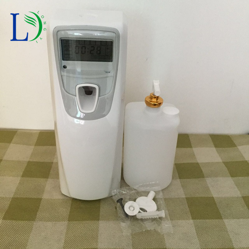 New arrival lcd automatic aerosol dispenser auto toilet for Alpine cuisine bs 400 propane burner