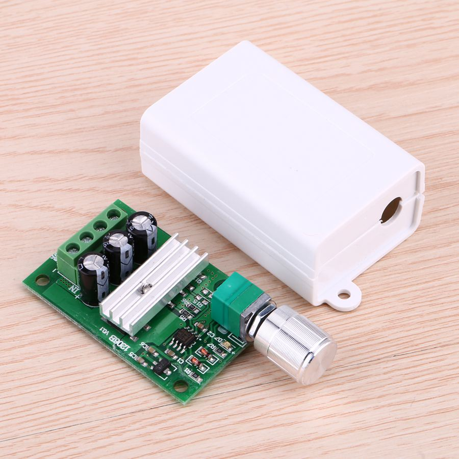 6V12V24V28V 3A PWM DC Motor Speed Controller Switch Function 1206B With Good Quality Outer Case original s02 40276 maxon dc motor 144474 selling with good quality