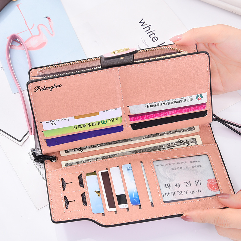 Women Wallets PU Leather Wallet Female Purse Long Coin Purses Holders Ladies Wallet Hasp Fashion Womens Wallets And Purses high quality women wallet brand design genuine sheepskin leather wallet female hasp fashion long women wallets and purses x37