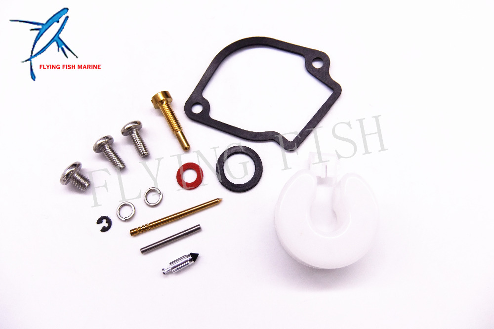 6A1-W0093-01-00 6A1-W0093-00 6A1-W0093-02 6A1-W0093-03 Boat Carburetor Repair Kit for <font><b>Yamaha</b></font> <font><b>2HP</b></font> 2MS <font><b>Outboard</b></font> <font><b>Motor</b></font> image