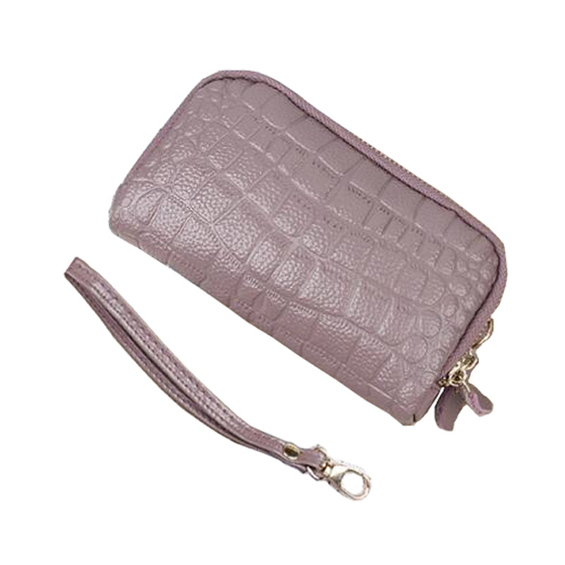 Genuine Leather Crocodile Women Coin Bag Purse Zipper Organizer Wallets Clutch Wristlet Phone Key Case Credit Card Holder Tote 2017 women wallet genuine leather purse crocodile mens wallets for mobile phone key holder wristlets zipper clutch carteira