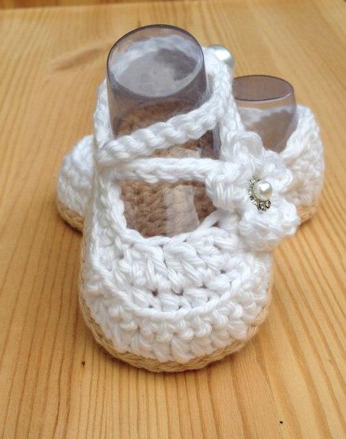 Häkeln Babyschuhe, Weiß Baby Schuhe, handgemachte Baby Hochzeit ...