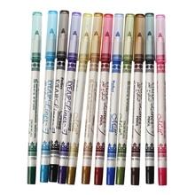 12 Color Eyeliner Pencil Eye Liner Makeup Cosmetics Set